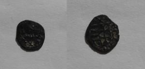 OBR 1 Denaŕ Matej Korvín, pred mincovou reformou (Súkromná zbierka)