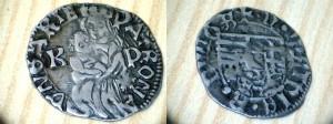 OBR 2 denár mateja Korvina po mincovej reforme (súkromná zbiera)