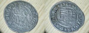 OBR 6 Denár Ludovit II 1526 KB (Sukromná zbierka)