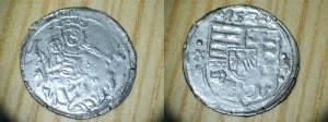 OBR 7 Denár Moneta Nova Lud II (Súkromná zbierka)