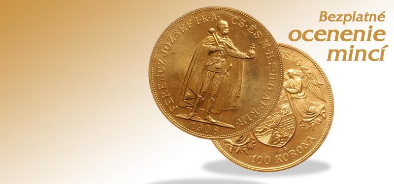 Ohodnotenie mincí